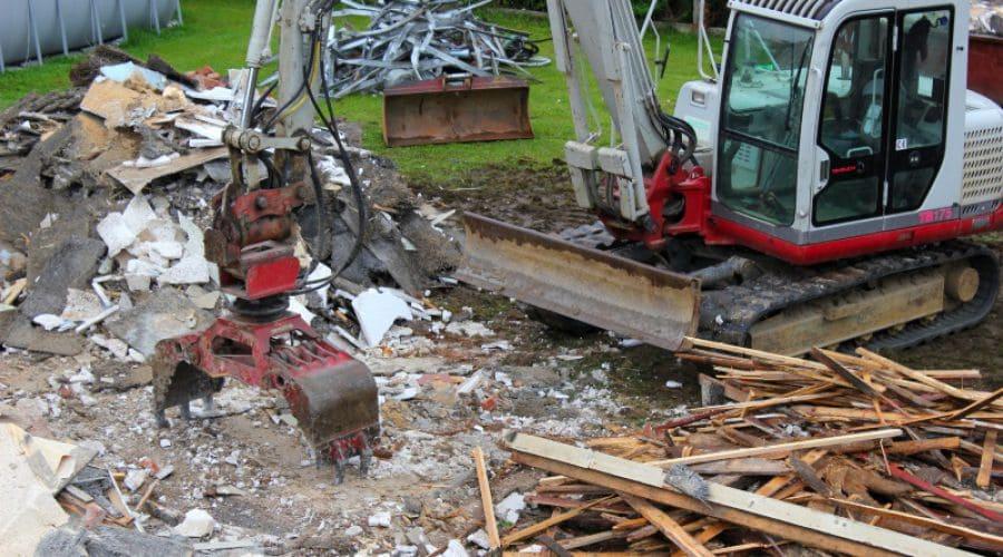 Bauschutt richtig entsorgen – von der Planung bis zum Recycling