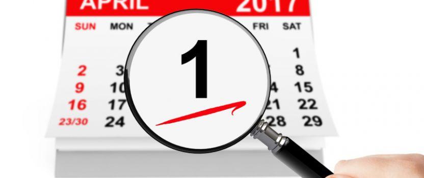 April-Aktion und verlängerte Öffnungszeiten ab 01.04.2017