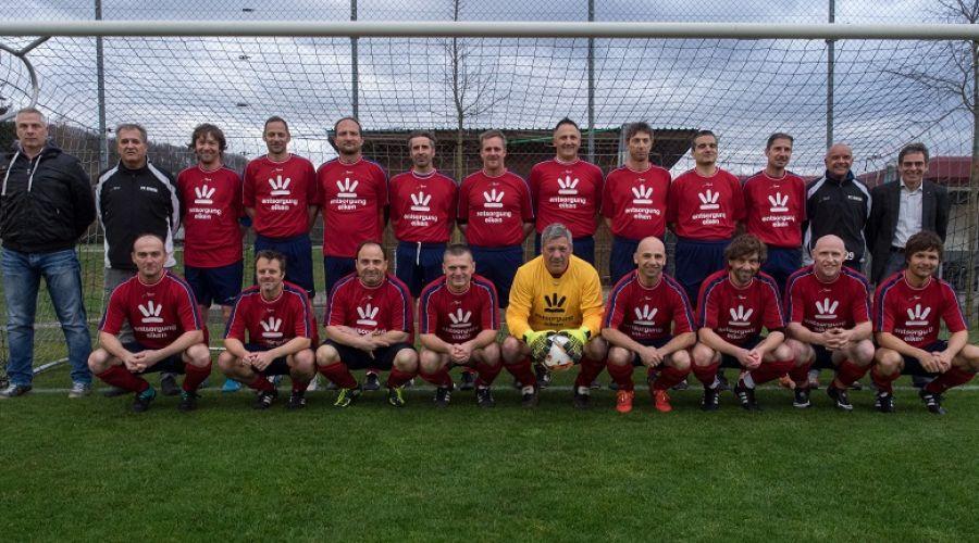 FC Eiken/Stein spielt im neuen Dress der Entsorgung Eiken