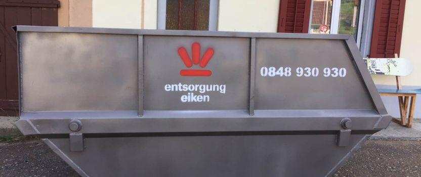 Neu bei Entsorgung Eiken: Unser Mini-Mulden-Service